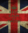 KEEP CALM EAT TACOS  - Personalised Poster A4 size