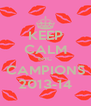 KEEP CALM EHC CAMPIONS 2013-14 - Personalised Poster A4 size