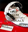 KEEP CALM EN DOENIT NICE MET @DJNAALS @DjTokkieBOY - Personalised Poster A4 size