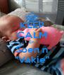 """KEEP CALM En Soen n """"Vakie"""" - Personalised Poster A4 size"""