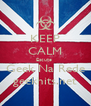 KEEP CALM Escute  Geek Na Rede geekhits.net - Personalised Poster A4 size