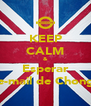 KEEP CALM & Esperar e-mail de Chong - Personalised Poster A4 size