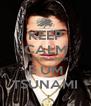 KEEP CALM ESSA MULHER É UM TSUNAMI - Personalised Poster A4 size
