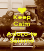 Keep Calm Eu Adoro-te Salomé - Personalised Poster A4 size