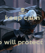 keep calm    ezio will protect you - Personalised Poster A4 size
