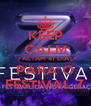 KEEP CALM FALTAM 41 DIAS PARA O FESTIVAL Z - Personalised Poster A4 size