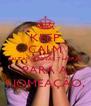 KEEP CALM FALTAM APENAS 7 HORAS PARA A NOMEAÇÃO. - Personalised Poster A4 size
