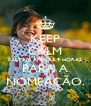 KEEP CALM FALTAM APENAS 9 HORAS PARA A NOMEAÇÃO. - Personalised Poster A4 size