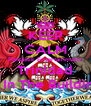 KEEP CALM Fantastik Entertainment Trinidad Is In The Building - Personalised Poster A4 size