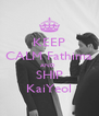 KEEP CALM Fathima AND  SHIP KaiYeol - Personalised Poster A4 size
