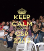 KEEP CALM FESTA CSP 22/12 - Personalised Poster A4 size