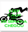 KEEP CALM FINAL DE SEMANA CHEGOU - Personalised Poster A4 size