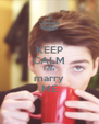 KEEP CALM FINN marry ME - Personalised Poster A4 size