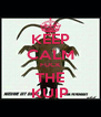 KEEP CALM FUCK THE KUIP - Personalised Poster A4 size
