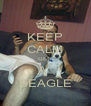 KEEP CALM GET  A  BEAGLE - Personalised Poster A4 size