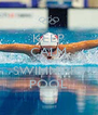KEEP CALM GO TO THE SWIMMING POOL - Personalised Poster A4 size