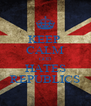 KEEP  CALM GOD HATES REPUBLICS - Personalised Poster A4 size