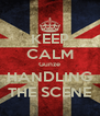 KEEP CALM Gunze HANDLING THE SCENE - Personalised Poster A4 size