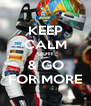 KEEP CALM GUTI & GO FOR MORE - Personalised Poster A4 size
