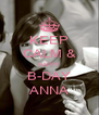 KEEP CALM & HAPPY B-DAY ANNA - Personalised Poster A4 size