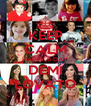 KEEP CALM HAPPY B-DAY DEMI LOVATO - Personalised Poster A4 size