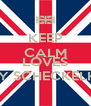 KEEP CALM HARRY STYLES LOVES EMILY SCHECKELHOFF - Personalised Poster A4 size