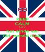 KEEP CALM het is het einde van het wereld maar - Personalised Poster A4 size