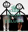 KEEP CALM hoje é dia de CÉLULA  - Personalised Poster A4 size