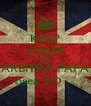KEEP CALM HOY ARBITRA PAPA osea YO ... - Personalised Poster A4 size