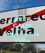 KEEP CALM I am from Alferrarede Velha - Personalised Poster A4 size