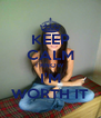 KEEP CALM I KNOW I'M WORTH IT - Personalised Poster A4 size