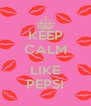 KEEP CALM I LIKE PEPSI - Personalised Poster A4 size