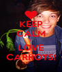 KEEP CALM I LOVE CARROTS! - Personalised Poster A4 size