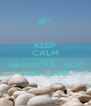 KEEP CALM I'm going to be GRANDMA  JoJo June - 2016 - Personalised Poster A4 size