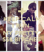 KEEP CALM I RUN  WITH MY PRETTY  $$$ BITCHES - Personalised Poster A4 size