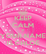 KEEP CALM IF YOUR NAME IS CHLOE - Personalised Poster A4 size