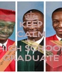 KEEP CALM IM A  HIGH SCHOOL GRADUATE - Personalised Poster A4 size