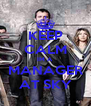 KEEP CALM IM A MANAGER AT SKY - Personalised Poster A4 size
