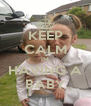 KEEP CALM IM HAVING A BABY - Personalised Poster A4 size