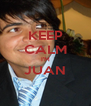 KEEP CALM I'M JUAN  - Personalised Poster A4 size
