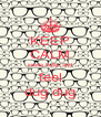 KEEP CALM inside bullet and feel dug dug - Personalised Poster A4 size