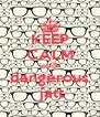 KEEP CALM inside dangerous  jatt - Personalised Poster A4 size
