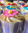 KEEP calm is my Sons  birthday CALM AND CARRY ON - Personalised Poster A4 size