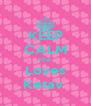 KEEP CALM Isha  Loves Ketav  - Personalised Poster A4 size
