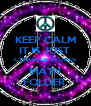 KEEP CALM IT IS JUST  CANDACE STOKES MATH FOLDER  - Personalised Poster A4 size