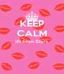 KEEP CALM it's been 22yrs   - Personalised Poster A4 size