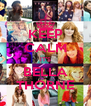 KEEP CALM IT'S BELLA THORNE - Personalised Poster A4 size