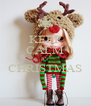 KEEP CALM It's CHRISTMAS  - Personalised Poster A4 size