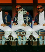 KEEP CALM IT`S  KING GUCCI BIRTHDAY - Personalised Poster A4 size