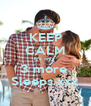 KEEP CALM It's only  3 more  Sleeps xxx - Personalised Poster A4 size